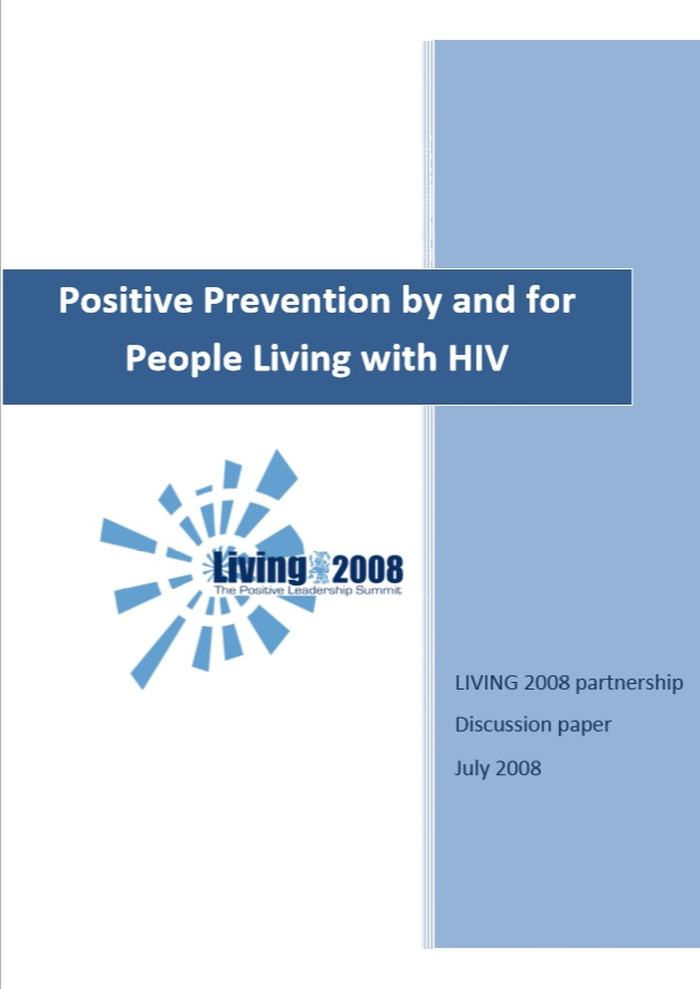 Positive Prevention by and for People Living with HIV