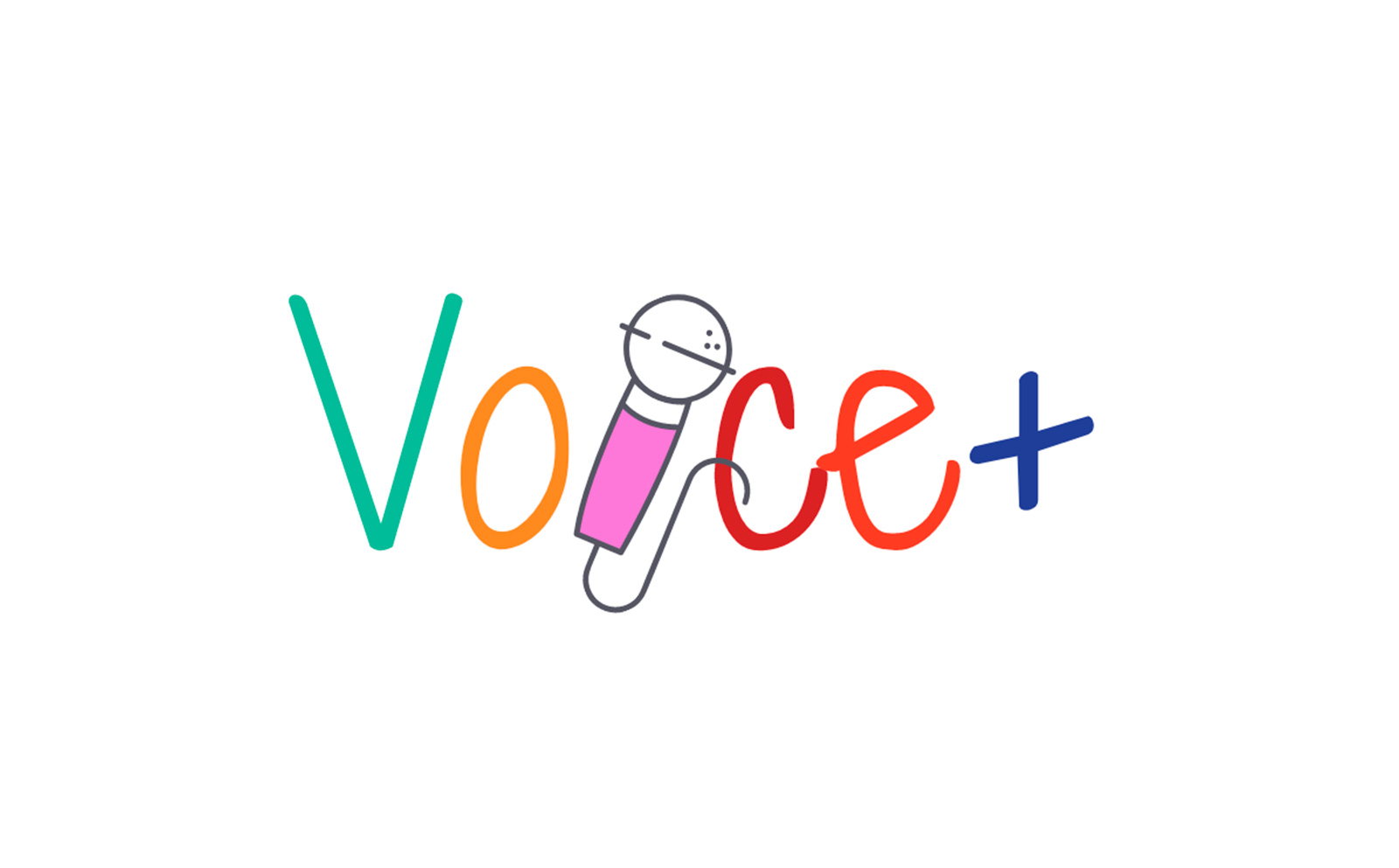 Voice plus logo
