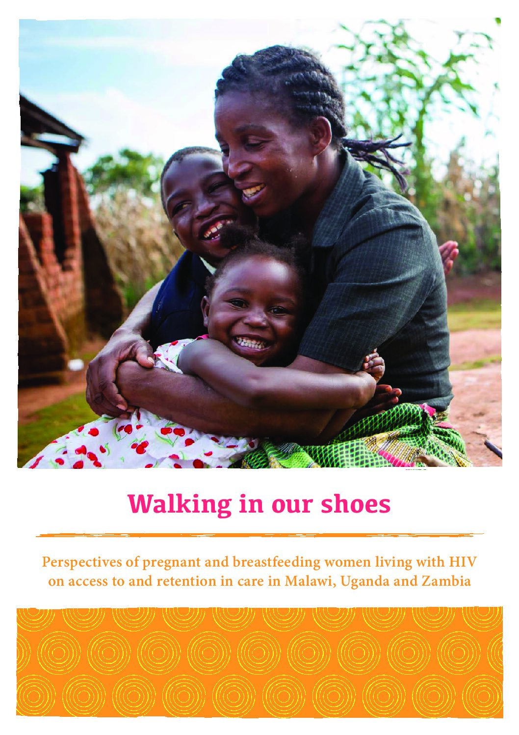 Walking in our shoes